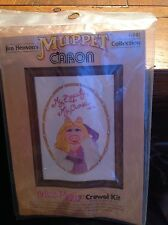 Vintage Caron Crewel Kit Jim Hensons Muppet Collection Miss Piggy 1980 Brand New