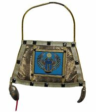 Deluxe Egyptian Handbag Scarab Purse Gold Gems Cleopatra Women Costume Accessory