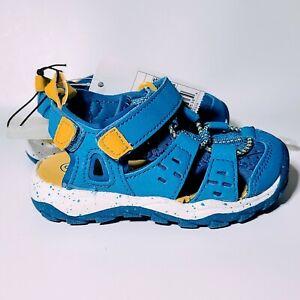"Cat & Jack Toddler Boys' Blue ""Howell"" Fisherman Sandals - Size 6"