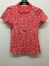 RRP £18 M&S Essentials Pure Cotton Short Sleeve Butterfly Print Polo Shirt (B39)