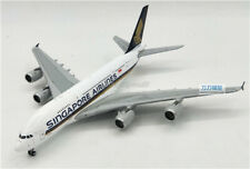 1:400 Singapore Airlines Airbus A380 alloy aircraft large Airliner Model