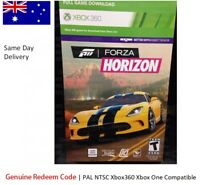 xbox 360 xbox one game : Forza Horizon download card, base FULL GAME redeem code