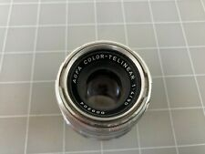 Vintage Agfa Color-Telinear 90mm f/4 Ambe Sillete Camera Lens