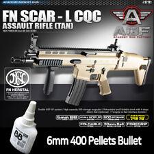 Academy FN Scar-L CQCAssault RifleTan Airsoft 6mm BB Gun Military Kit  # 17111