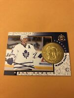Mats Sundin 97-98 Pinnacle Mint Coin Card Maple Leafs