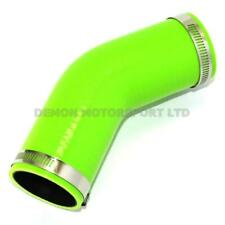 Silicone Hose 45 Degree Bend Green SELECT SIZE / CLAMPS Demon Motorsport