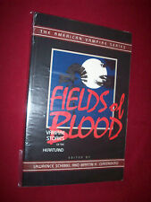 Fields Of Blood American Vampire Series 1st Ed Softback 1998 As Seen