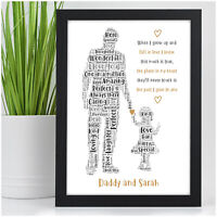 PERSONALISED Christmas Daddy Gifts from Daughter Daddy and Daughter Gifts Dad