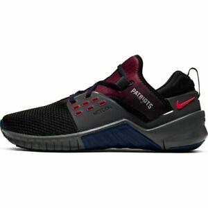 Nike Free X Metcon 2 NFL New England Patriots Running Training Shoes Men 11 NWOB