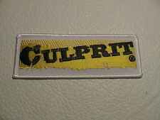 CULPRIT LURES FRESHWATER TACKLE BOX ROD REEL FISH FISHING PATCH BRAND NEW!