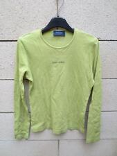 T-shirt SAINT-JAMES vert manches longues femme 40 S