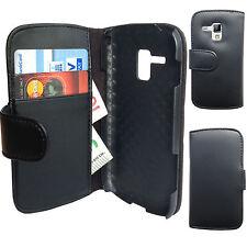 Buch Klapp Tasche Flip Book Case Cover Hülle Samsung Galaxy S DuoS 2 GT-S7582