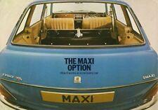 Austin Maxi 1979 UK Fleet Market Sales Brochure 1500 1750 HL