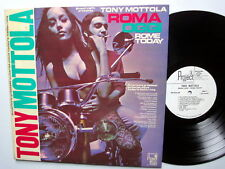 TONY MOTTOLA Rome Today Roma Oggi WHITE LABEL PROMO LP MINT