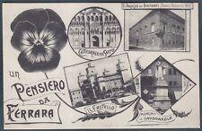 FERRARA CITTÀ 56 SALUTI da... VEDUTINE Cartolina