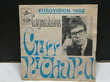 CLIFF RICHARD Congratulations EUROVISION 1968 CF 143