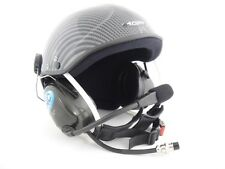 Icaro Skyrider Deluxe Com Helmet for Powered Paragliding, Paramotor Carbon Color