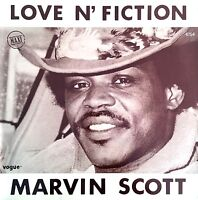 "Marvin Scott 12"" Love N' Fiction - France (EX/EX+)"
