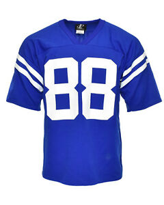 Vintage Indianapolis Colts 90's Marvin Harrison Logo Athletic Football Jersey L