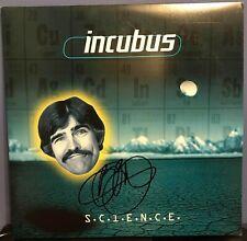 "Brandon Boyd signed Incubus S.C.I.E.N.C.E. 12"" album lp"