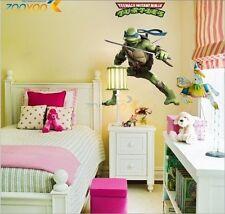 Leonardo Teenage Mutant Ninja Turtles Art Wall Decals Stickers Kids Room Decor