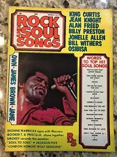 Rare Rock And Soul Songs Magazine Mar 1972 James Brown Jackson Five Bill Withers