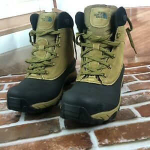 The North Face Mens Chilkat III Brown Snow Boots size 11 New in box