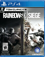 TOM CLANCY'S RAINBOW SIX SIEGE Brand New Factory Sealed PS4 VERY Fast Ship World