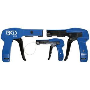 BGS 9368 Kabelbinderzange 2.4 - 4.8 mm Kabelbinderpistole Kabel Spannwerkzeug