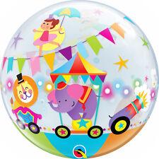 "Qualatex 22"" Single Bubble Circus Parade Balloon Birthday Party Decoration"