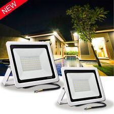 NEW 50W 100W LED Flutlicht Fluter Strahler Außen Scheinwerfer Kaltweiß IP67 DE