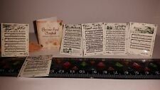 1:6 Scale Dollhouse Miniature Christmas Carol Song Book Sheet Music Barbie Doll