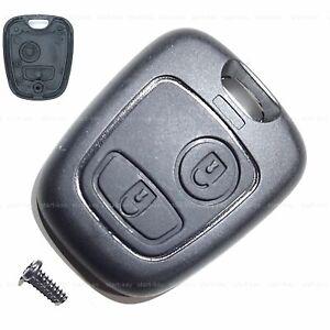 Schlüssel Ersatz Tasten Gehäuse für Peugeot Citroen C1 C2 C3 107 307 Aygo