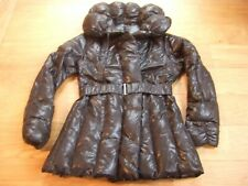 Manteau doudoune duvet t 38 ou 40 noir brillant Guxy