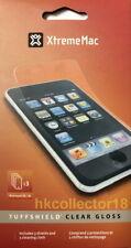 (3 PK) XtremeMac Tuffshield Clear Gloss iPod Touch 3G / 2G Screen Shield & Cloth