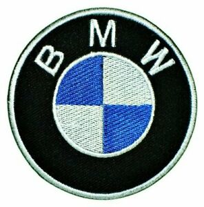 """Big Large BMW 3 5 7 M Series Cars Motorcycle 10"""" sew Iron On Embroidery Patch"""