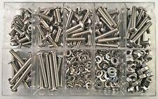 Sortiment- Linsenschrauben mit Innensechskant ISO 7380 M5  Edelstahl 420 Teile