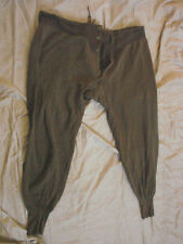 Vintage Athletic Sweat Pants Mens Cotton Edwardian Button Fly 34+ Terrycloth
