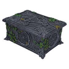 Wiccan Pentagrama Tarot caja/caja de almacenamiento de información Por Nemesis Now