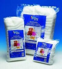 GLOREX flauschige weiße Bastelwatte Füllwatte aus Polyester 1kg