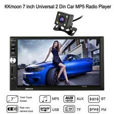 "7"" DOUBLE 2DIN Car HD MP5 Player Bluetooth Touch Screen Stereo Radio+Camera O9R0"