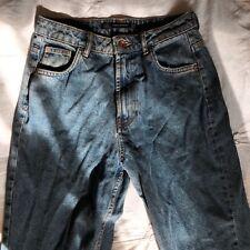 "Zara High Waisted Vintage Style Mom Jeans! Size 8, 27"" - 28"" Waist, Never Worn"
