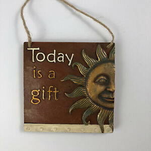 Today Is A Gift Ceramic 5 inch Square Plaque