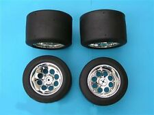 4x Monster Truck MonsterTruck Slicks Reifen für FG Marder Baja Stadium Truck