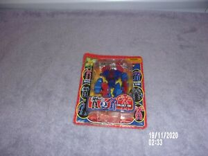 RED/BLUE XBOTZ SNAP-A-BOT NEW