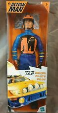 Action Man Arctic Rally Driver Rennfahrer Actionfigur - Hasbro - Boxed Neu & Ovp