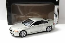 1:18 Hot Wheels bmw 645ci Coupe e63 beige New en Premium-modelcars