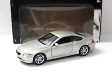 1:18 Hot Wheels BMW 645CI Coupe E63 beige NEW bei PREMIUM-MODELCARS