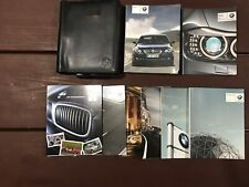 2009 BMW 5 Series Owners Manual With Case OEM Free Shipping