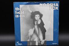 """Noosha Fox - The Heat Is On (1970) (Vinyl 7"""") (Chrysalis – 100 829)"""
